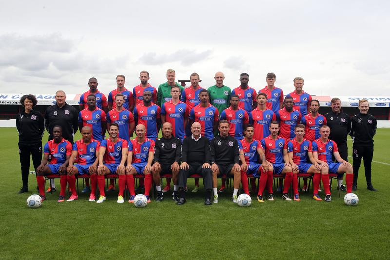 Dagenham & Redbridge FC Squad Photo 2017/2018
